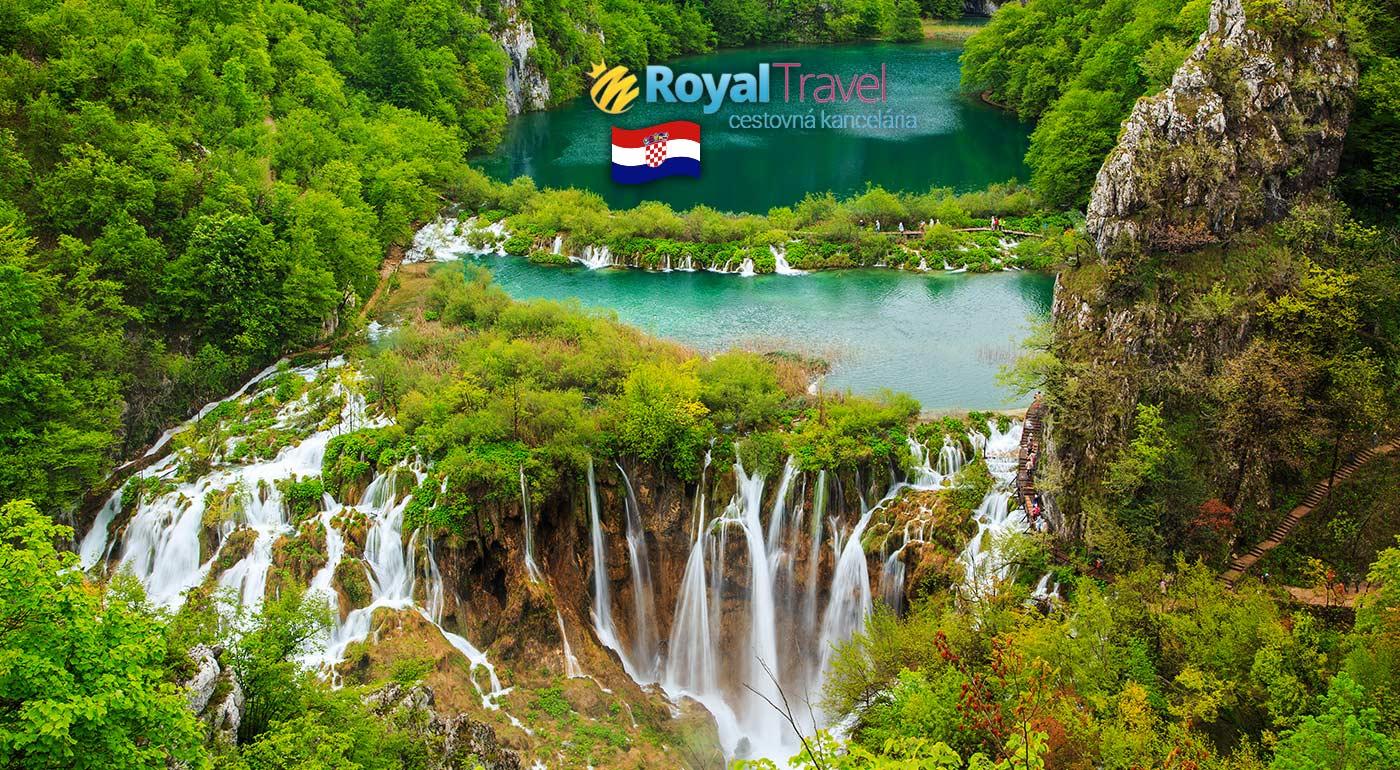 Letné dobrodružtvo pri mori - zájazd do Chorvátska s návštevou Plitvických jazier, Vodíc a Záhrebu