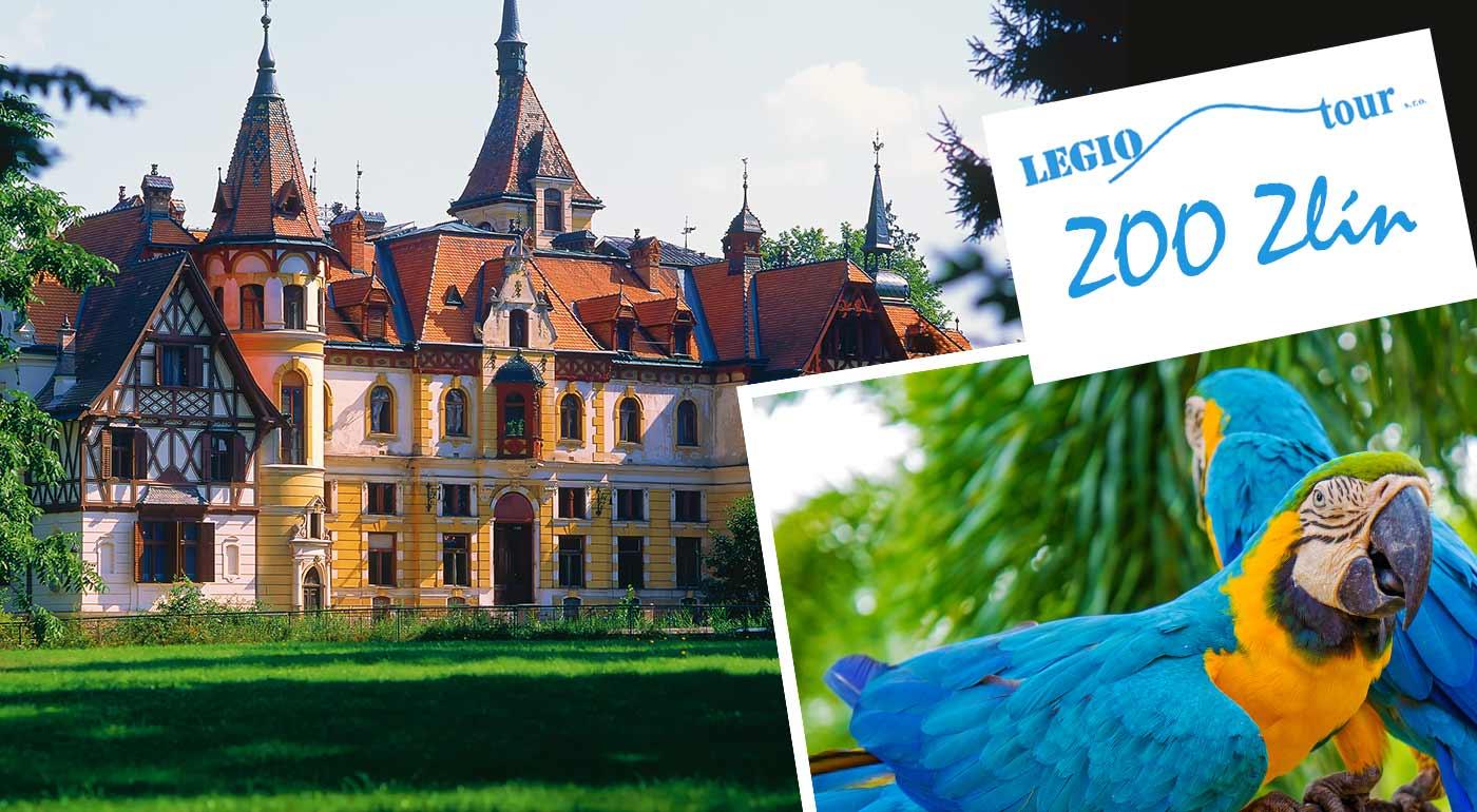 Poznávací zájazd do ZOO Zlín s návštevou zámku Lešná - výborný tip pre vaše ratolesti na Deň detí