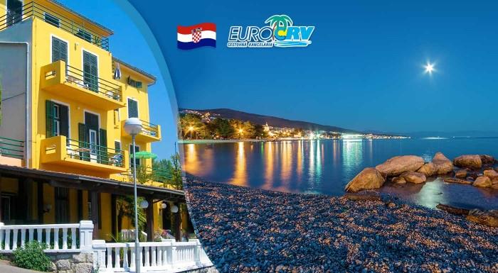 Fotka zľavy: Slnečná 8-dňová letná dovolenka v chorvátskej Crikvenici v Hoteli Riviera**. V cene je ubytovanie, polpenzia a navyše dieťa do 7 rokov zdarma.
