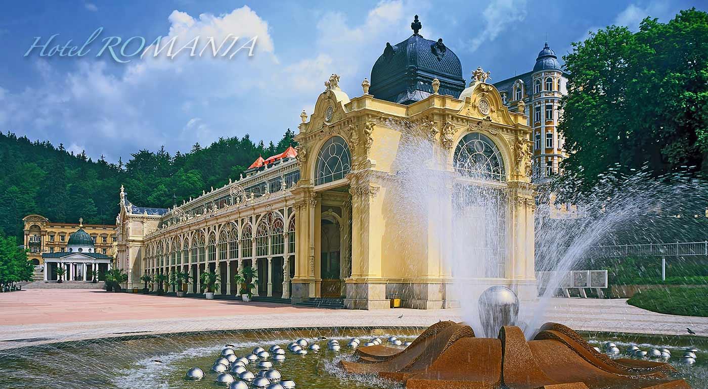 Wellness pobyt v Hoteli Romania *** v Mariánskych Lázňach s balíčkom procedúr