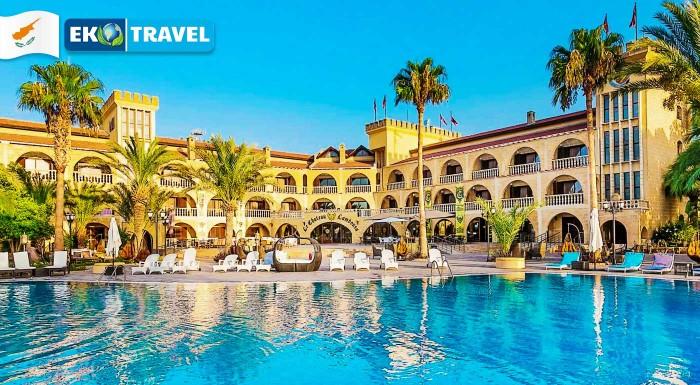 Fotka zľavy: Užite si leto už na jar. Vyberte sa na 8-dňový relax na Severný Cyprus do luxusného 4* hotela Le Chateau Lamboussa s polpenziou a leteckou dopravou z Viedne!