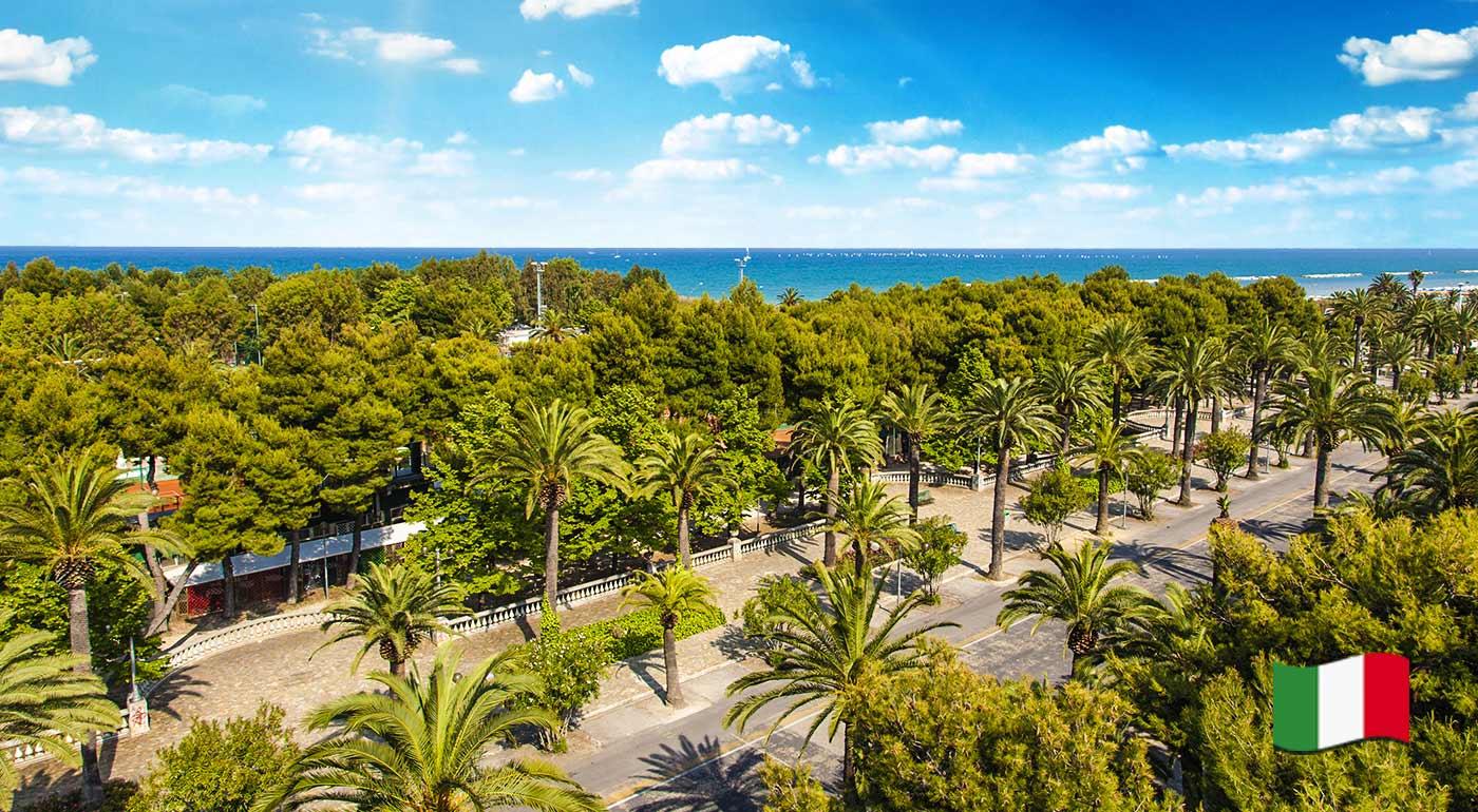 Fotka zľavy: Slnko, more, palmy a piesočnaté pláže - to všetko vás čaká na svetoznámej Palmovej riviére v Taliansku. Nechajte povinnosti na 5 dní ležať a užite si dovolenku ako sa patrí.