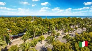 Zľava 29%: Slnko, more, palmy a piesočnaté pláže - to všetko vás čaká na svetoznámej Palmovej riviére v Taliansku. Nechajte povinnosti na 5 dní ležať a užite si dovolenku ako sa patrí.