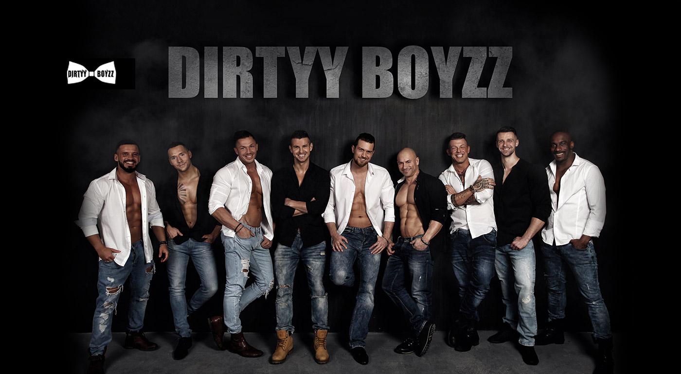 Fotka zľavy: Medzinárodná striptérska skupina DIRTYY BOYZZ v spolupráci s Johnym Mečochom a Petrom Pannom uvádza Hollywoodsku Noc