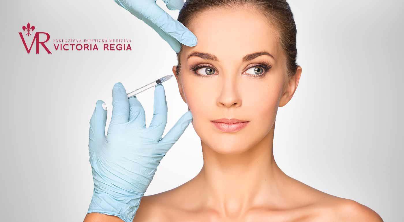 Fotka zľavy: Omladnite v priebehu okamihu. Zbavte sa mimických vrások bezpečne a bezbolestne aplikáciou botulotoxínu v oblasti čela, glabely či okolia očí na klinike exkluzívnej estetickej medicíny Victoria Regia.