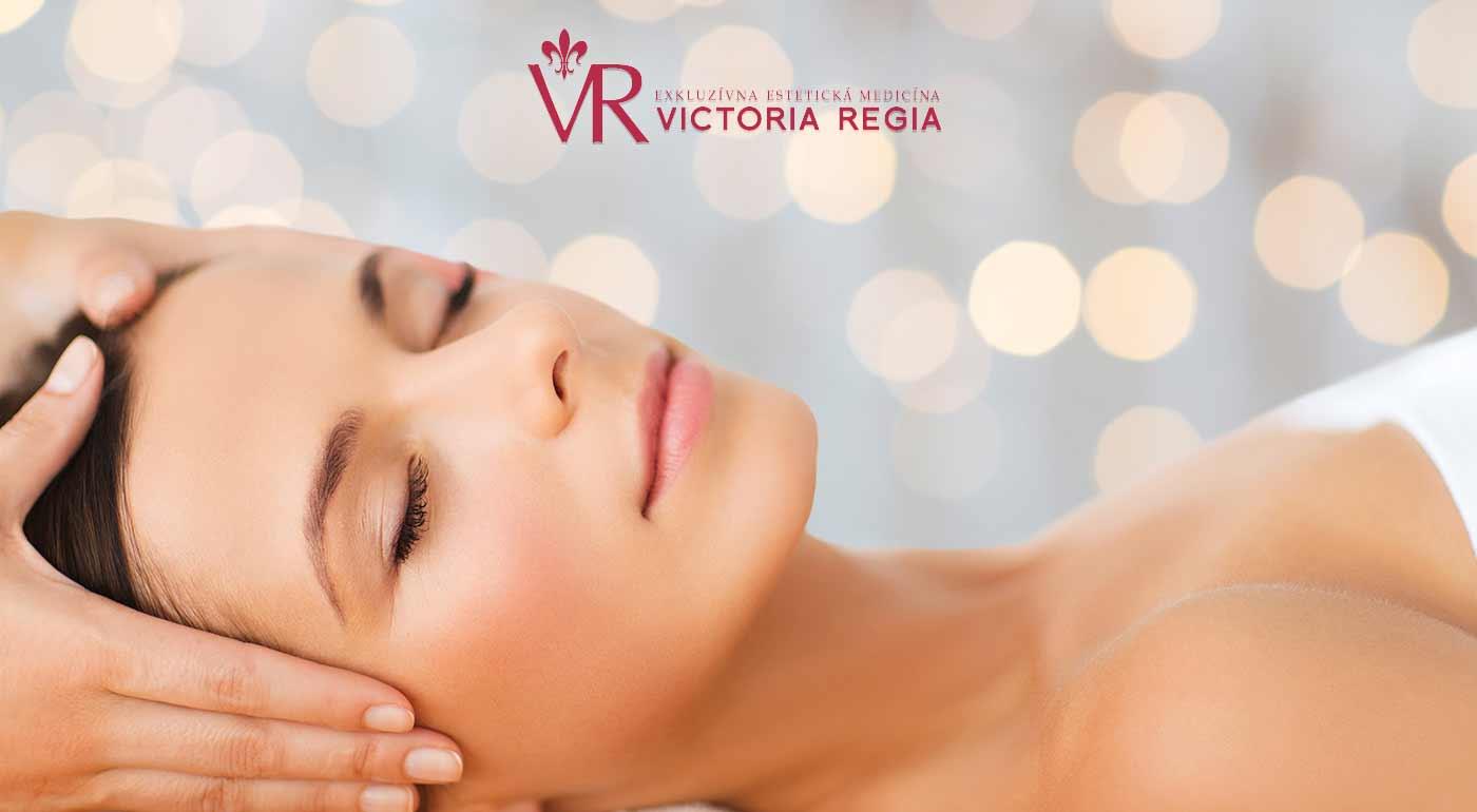 Relaxačno-regeneračné ošetrenie tela a tváre na klinike estetickej medicíny Victoria Regia