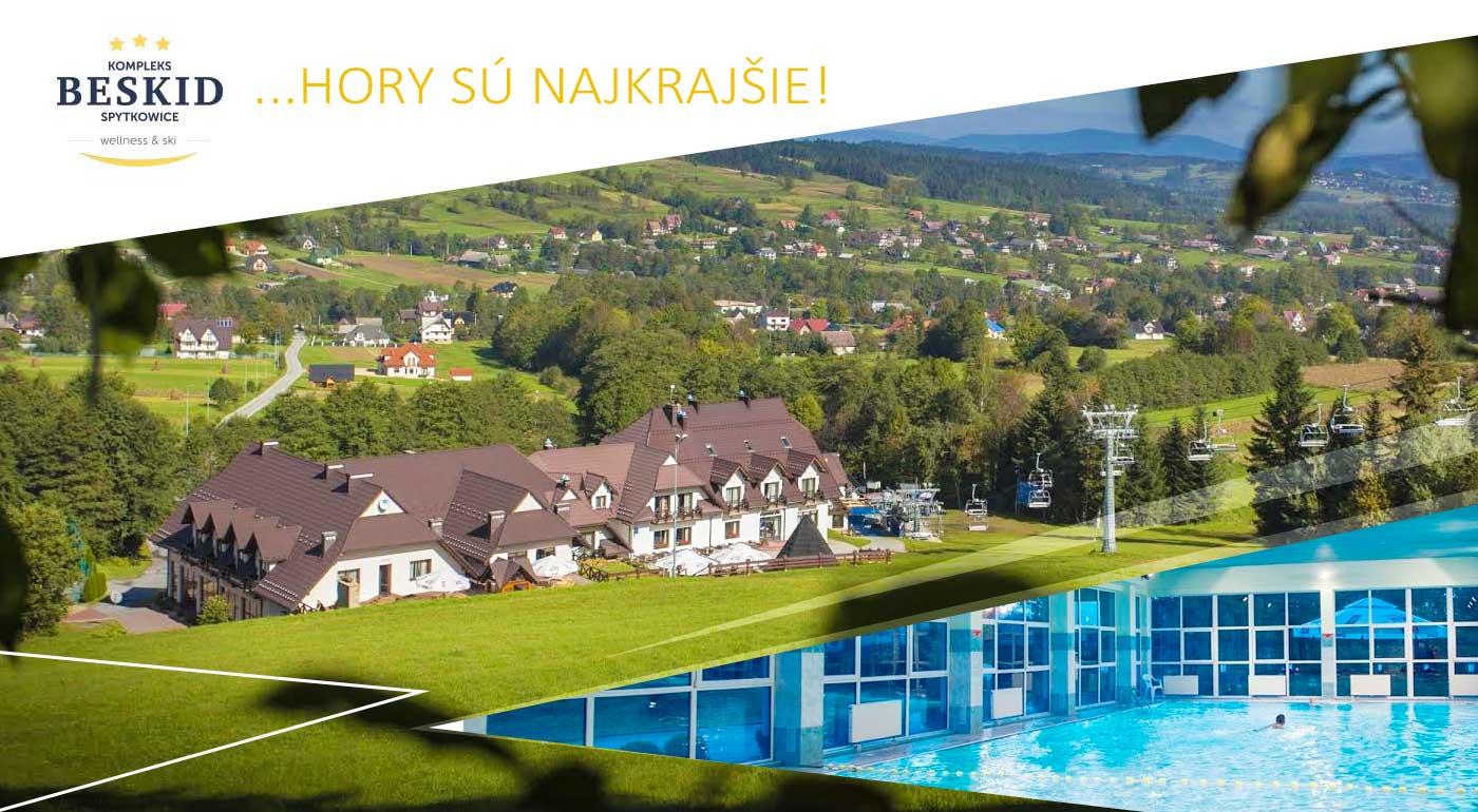 Super pobyt pre dvojicu v Hoteli Kompleks Beskid*** v Poľsku s vlastnou zjazdovkou, wellness a polpenziou neďaleko zábavného parku Rabkoland