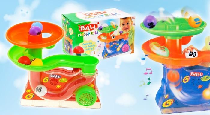 Fotka zľavy: Vzduchová hrajúca fontána pre zvedavé deti. Rozvíjajte zrak, vnímanie a motorickú koordináciu dieťaťa hravým spôsobom, ktorý deti pritiahne ako magnet.