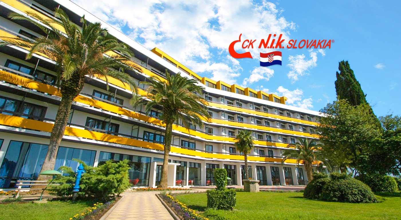 Chorvátsko: Veľká noc pri mori v luxusnom Hoteli Ilirija**** s ubytovaním na 4 dni