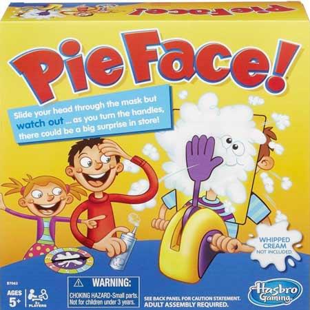 Hra Pie Face
