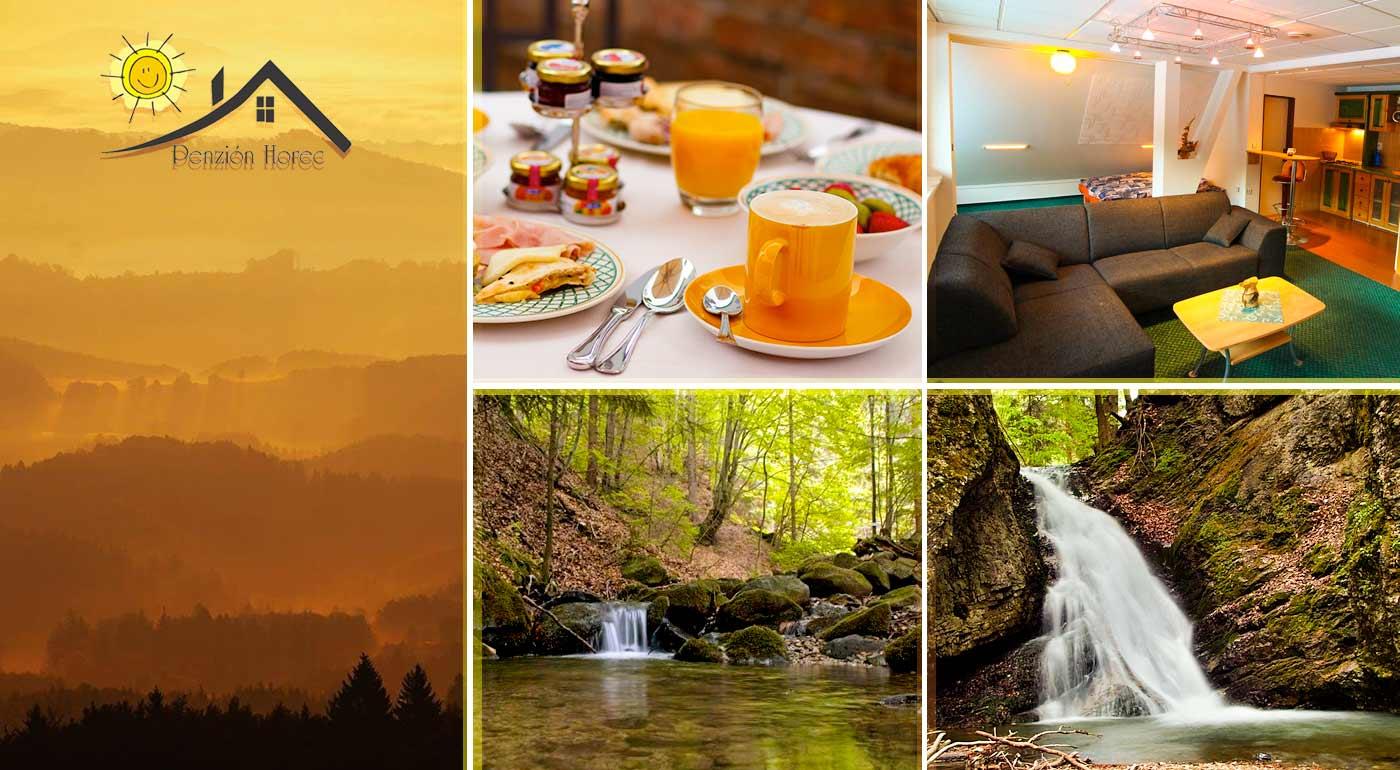 Super dovolenka v nádhernej prírode Kremnických vrchov v Penzióne Horec - Králiky s kúpaním v sude