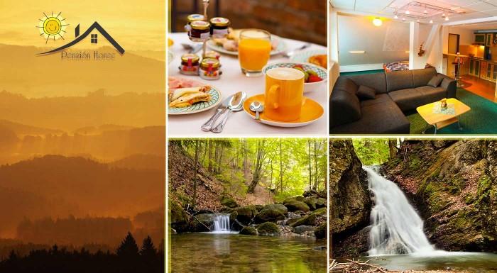 Fotka zľavy: Prežite skvelú jar či leto v prírode Kremnických vrchov v Penzióne Horec - Králiky s raňajkami alebo polpenziou a v ponuke variant s kúpaním v kúpacom sude.