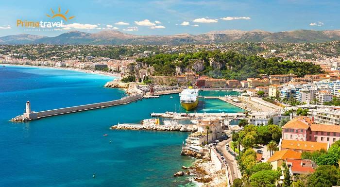 Fotka zľavy: Francúzsko nie je len Paríž! Nechajte sa okúzliť šarmom Azúrového pobrežia a maličkým Monakom. Čo by ste povedali na predĺžený letný víkend pri mori úplne bez starostí?