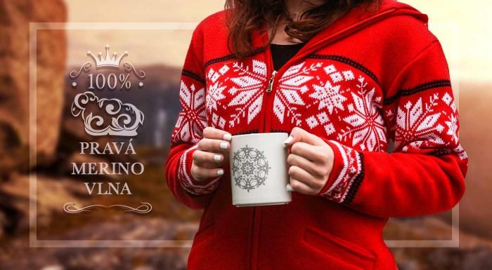 Fotka zľavy: V merino svetri aj na kraj sveta! Zaobstarajte si do šatníka nový najobľúbenejší kus odevu -  sveter z merino vlny s fleecovou podšívkou reguluje teplotu, odoláva vlhkosti a skvelo vyzerá!