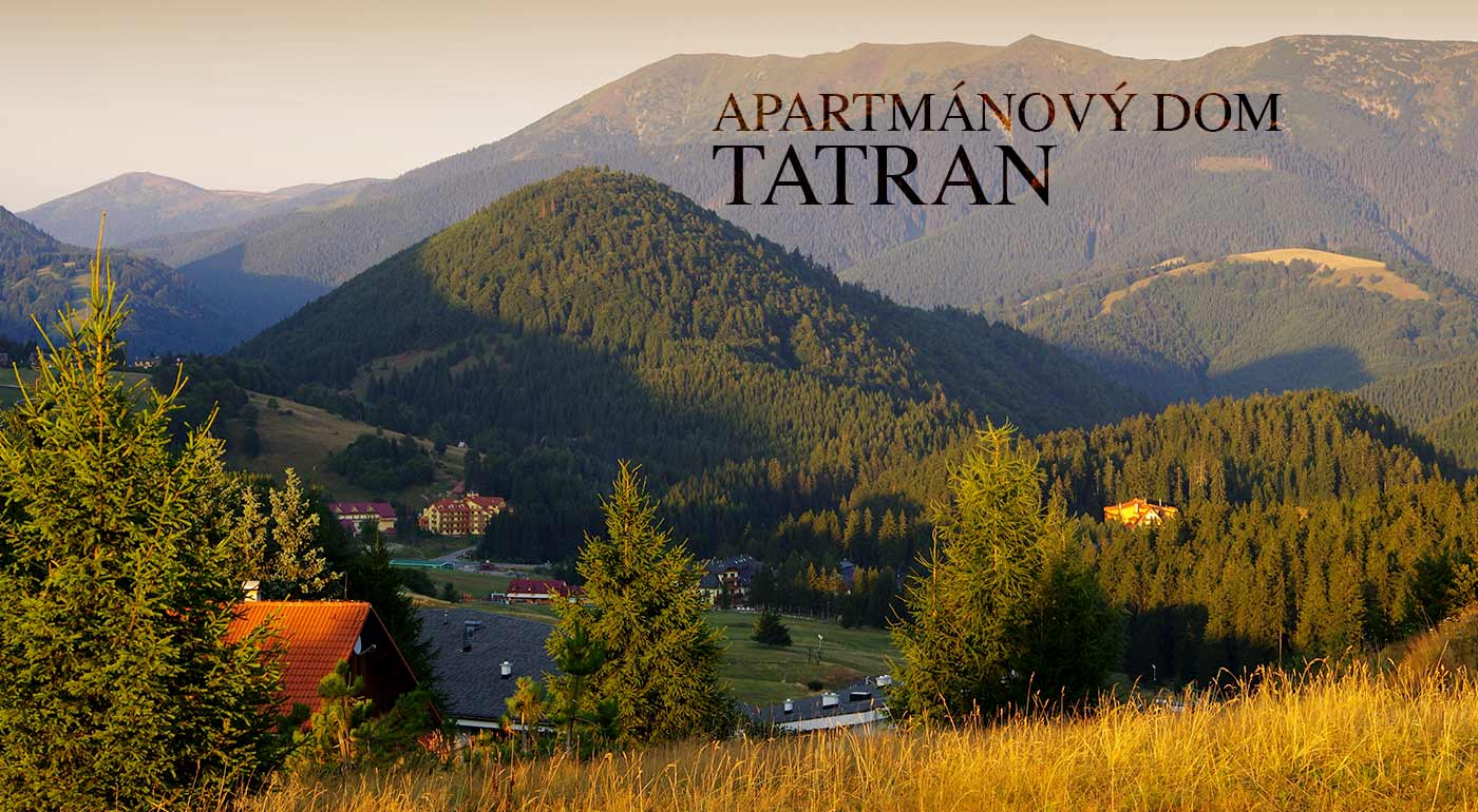 Dovolenka v prekrásnej prírode Nízkych Tatier v Apartmánovom dome Tatran až pre 4 osoby