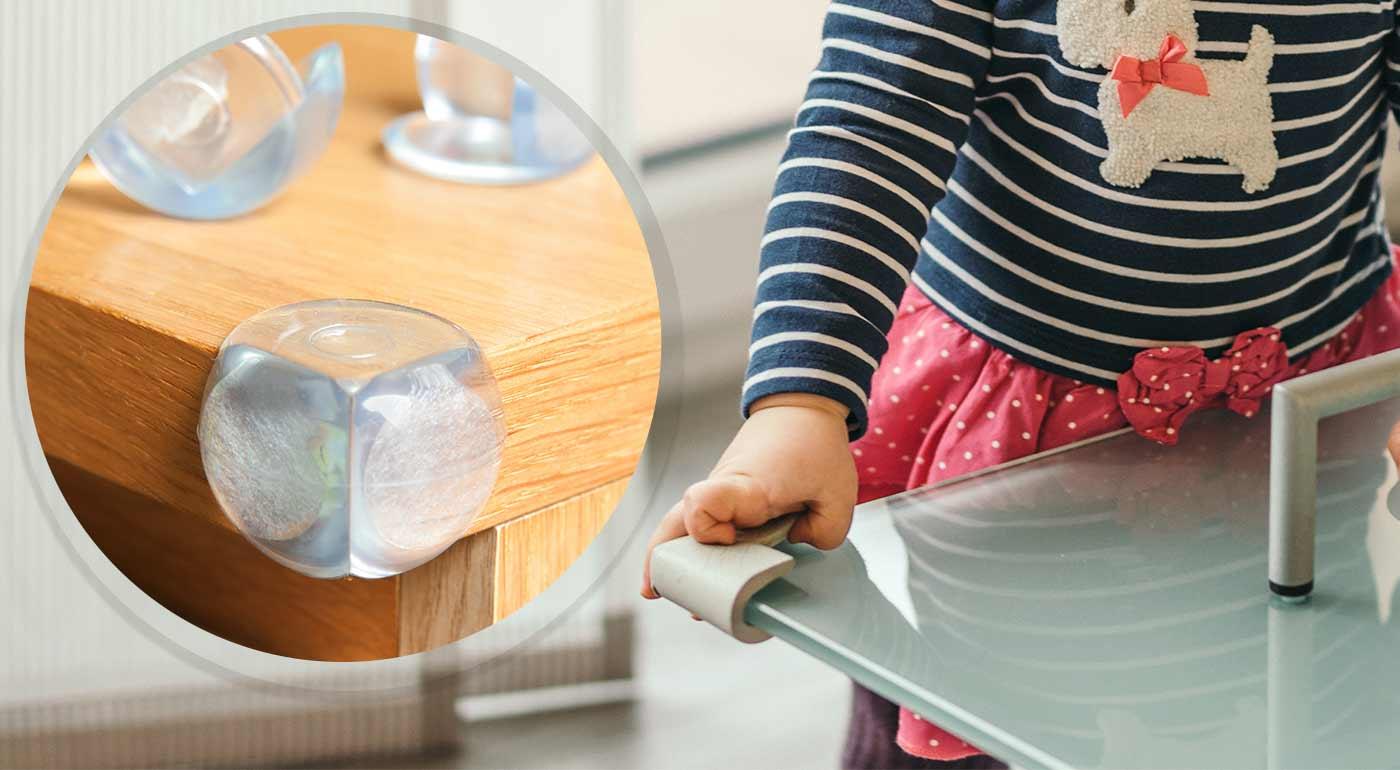 BabySafety penová ochrana rohov a hrán nábytku, ochrana na skrine a poistky do elektrických zásuviek