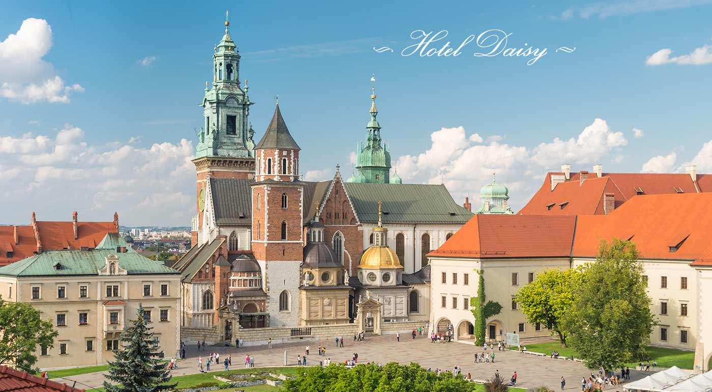 Fotka zľavy: Naplánujte si bezchybné dni v Krakowe v príjemnom Hoteli Daisy Superior*** s raňakami, vstupom do bazéna a sauny. Navštívte poľské mesto kráľov za super cenu!