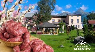 Zľava 31%: Sviatky jari v Tatrách na 4 alebo 5 dní v Penzióne Monty Ranch! Polpenzia, jazda na koni, veľkonočná zabíjačka a zľava na vstup do sauny k tomu!
