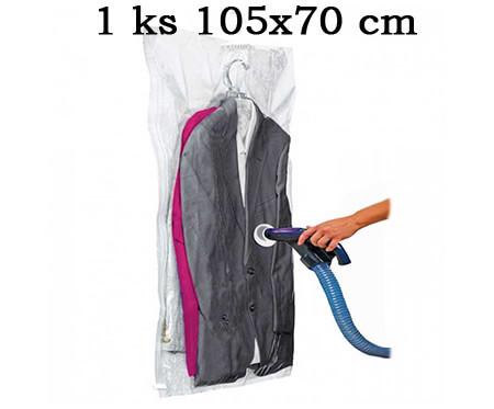1 ks závesné vákuové vrece 105 x 70 cm