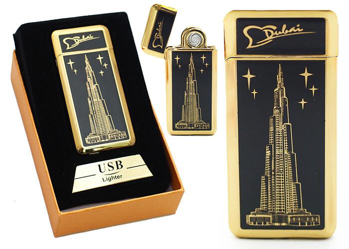 Zapaľovač s USB nabíjaním - Dubaj I.