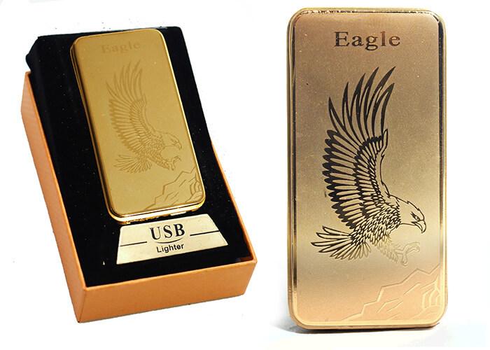 Zapaľovač s USB nabíjaním - Eagle