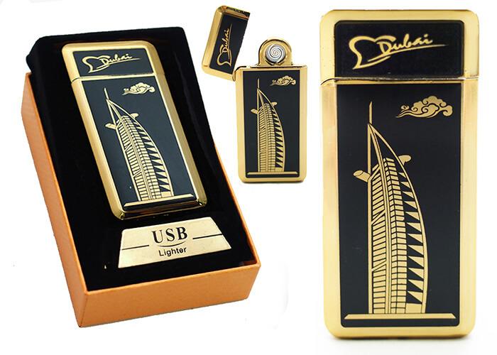 Zapaľovač s USB nabíjaním - Dubaj II.