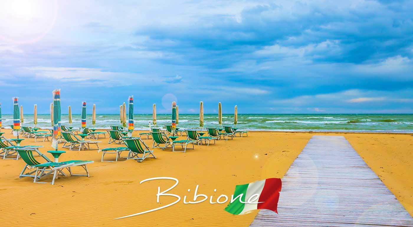 Jeden deň pri mori v preslávenom letovisku Bibione v Taliansku