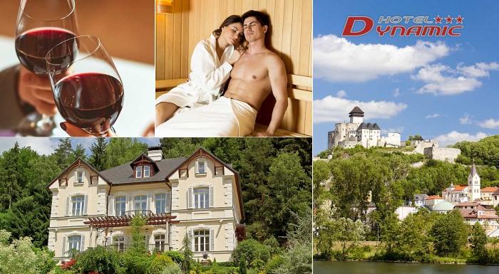 Fotka zľavy: Načerpajte novú energiu z liečivých prameňov v Trenčianskych Tepliciach. Ubytujte sa v Hoteli Dynamic *** a vychutnajte si privátne wellness či znamenitú polpenziu.
