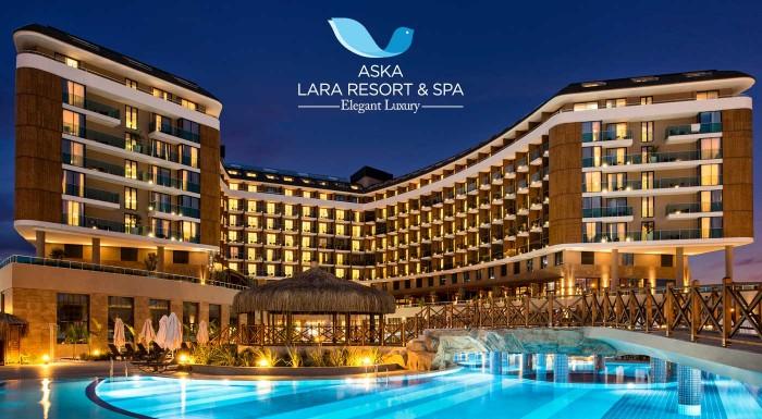 Fotka zľavy: Luxusná letecká dovolenka v Antalyii Aska Lara Resort & Spa Hotel 5* v Turecku s All Inclusive. Prežite letnú dovolenku v špičkovom zariadení a úplne zabudnite na starosti