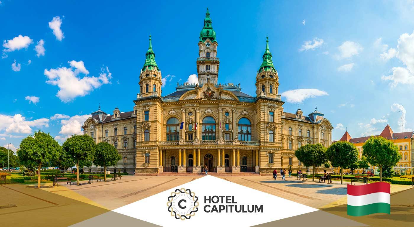 Wellness rozmaznávanie pre dvoch na 3 dni v Hoteli Capitulum**** v centre Győru