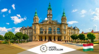 Zľava 59%: Romantika pre dvojicu v Hoteli Capitulum**** v srdci historického mesta Győr na 3 dni! Užite si raňajky, wellness a prechádzky po historickom centre. Možnosť využitia aj cez víkend.