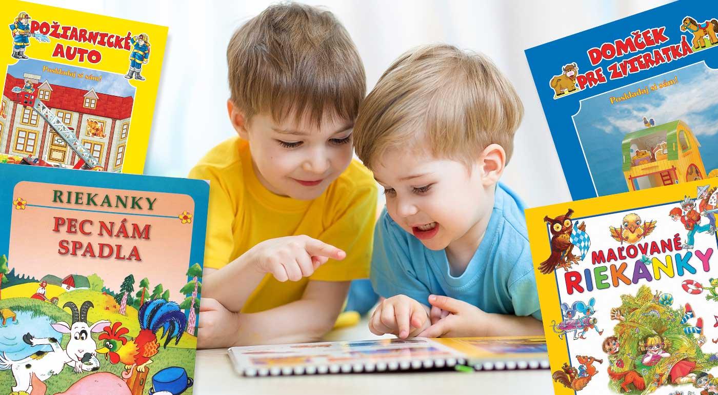 Zvieratká, rozprávky či riekanky v nádherne ilustrovaných knižkách pre všetkých škôlkarov
