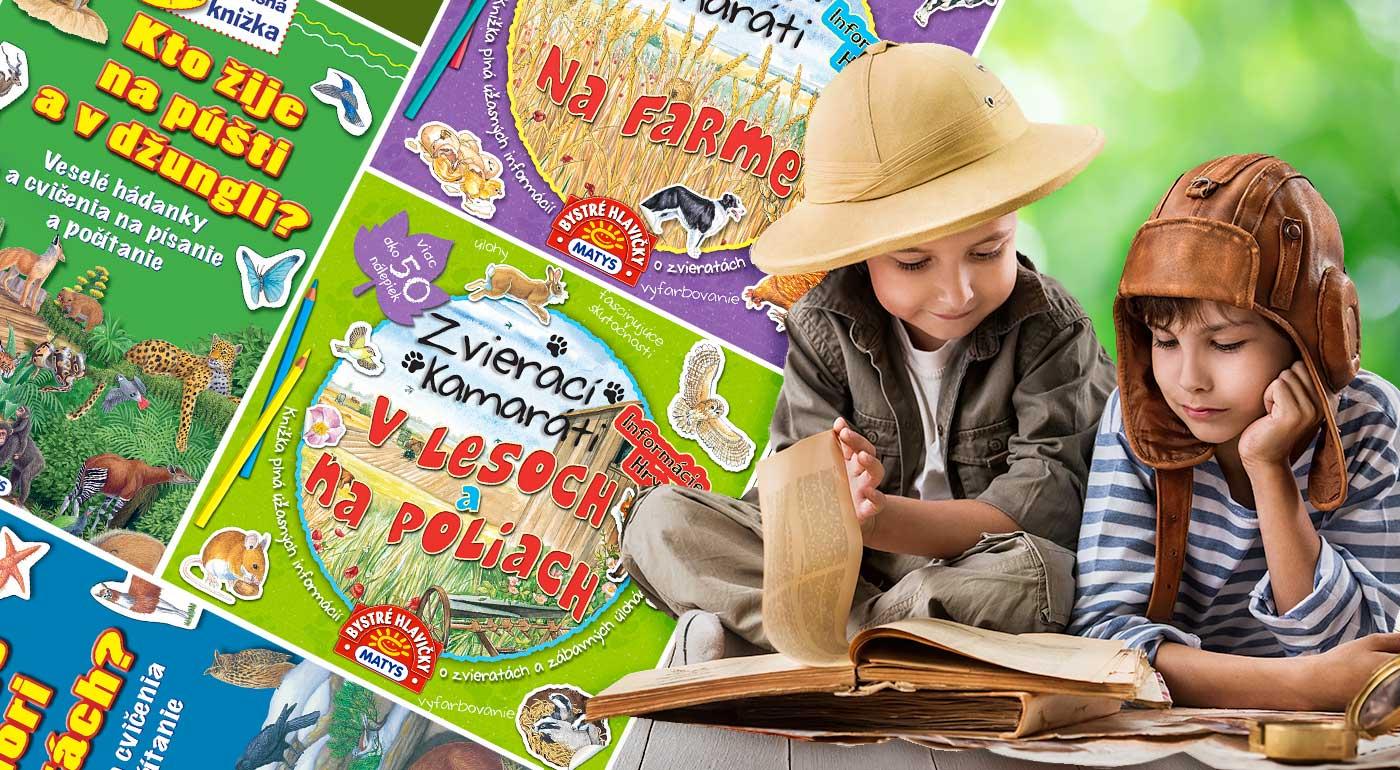 Detské knižky a pracovné zošity z vydavateľstva Matys