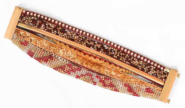 Ručne vyrábaný indánsky náramok - model 3