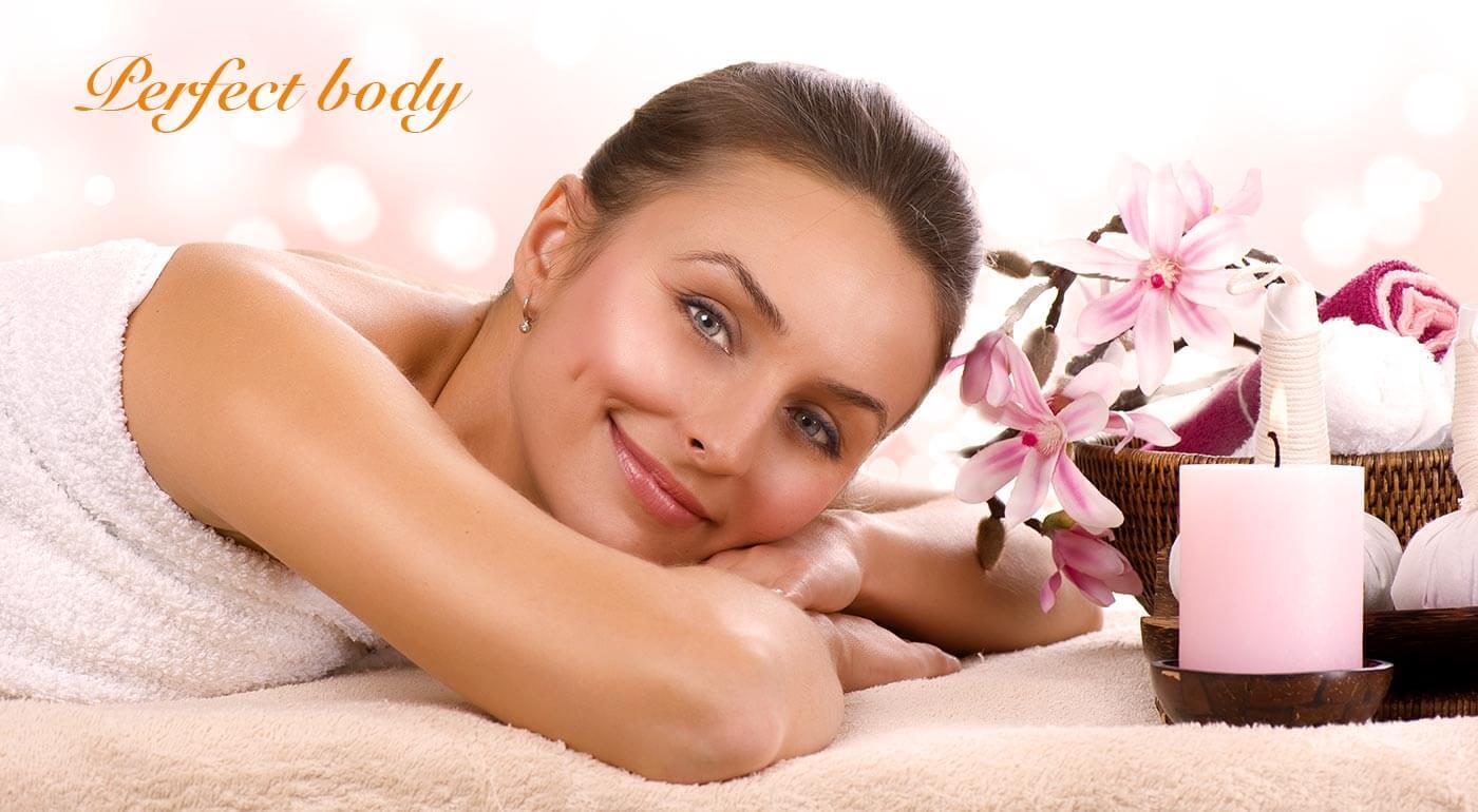 Masáž chrbta, šije, nôh a chodidiel a kompletná starostlivosť o tvár luxusnou kozmetikou Darphin v salóne Perfect Body