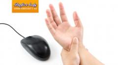 Masáž karpálneho tunela - pomoc pri odstránení bolesti ruky z nadmernej práce s počítačom