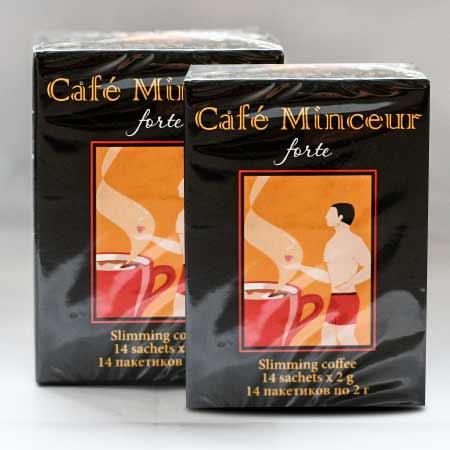 Káva na chudnutie Café Minceur Forte (2 x 14 sáčkov po 2g)