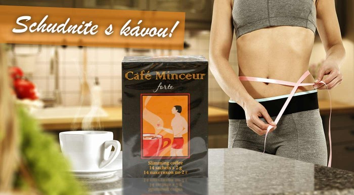 Fotka zľavy: Neviete si vybrať medzi kávou a čajom? Siahnite po káve s extraktom zeleného čaju Café Minceur a buďte do leta fit! Káva znižuje obsah cukru a tým pomáha redukovať tukové zásoby!