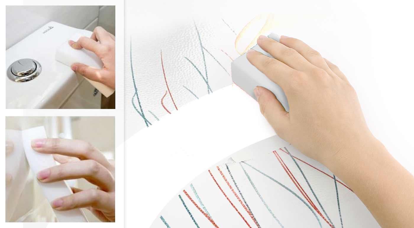 Fotka zľavy: Melamínová nano hubka vás zbaví každej nečistoty. Na výber 10, 20 či 40 kusové balenie!