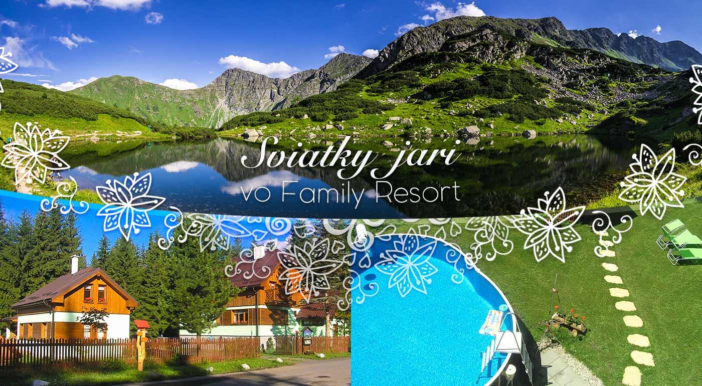 Veľkonočný pobyt pre dvojicu v Penzióne Family Resort v Podbanskom - spestrite si tohtoročné sviatky podtatranskou šibačkou a oblievačkou