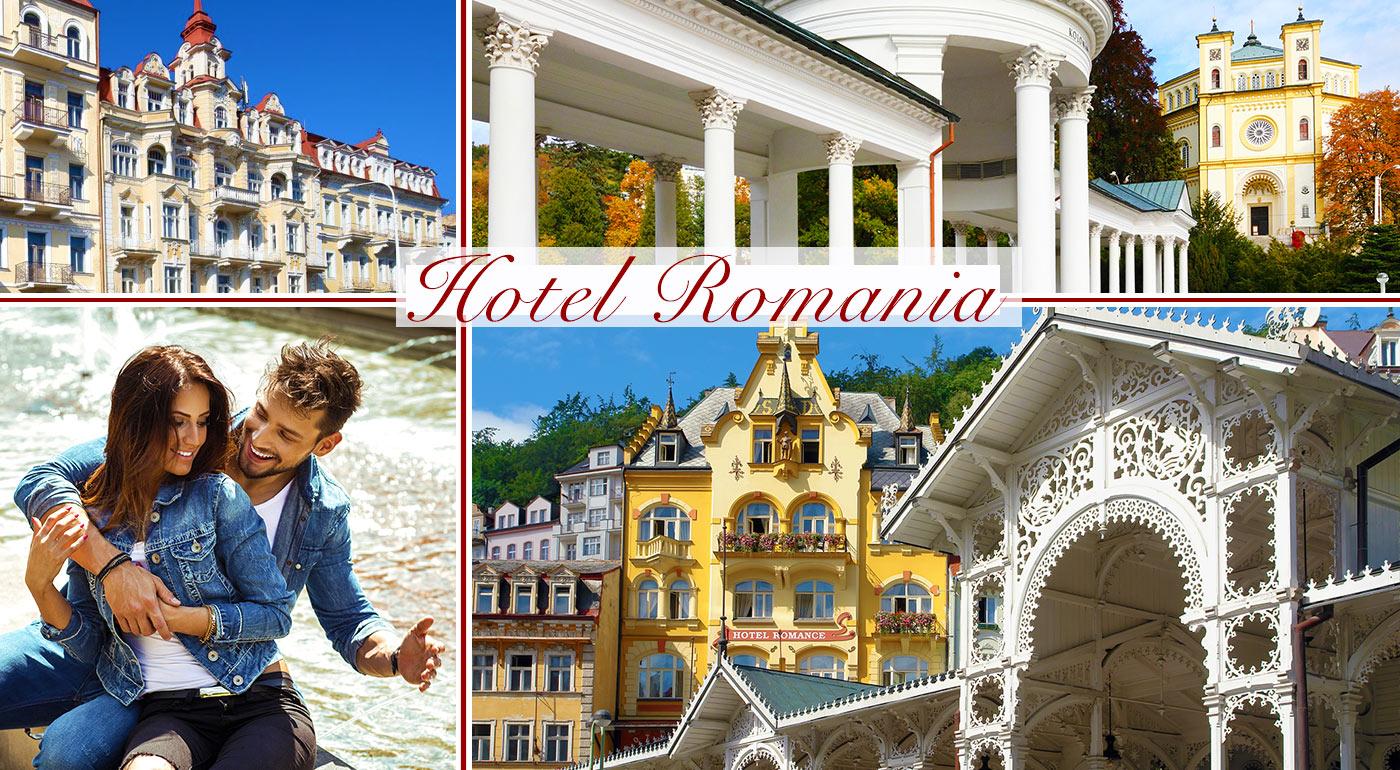 Romantické Mariánske lázně v Hoteli Romania*** s balíčkom wellness procedúr