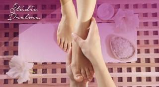Zľava 56%: Doprajte trošku potešenia vášmu telu - reflexná masáž chodidiel v kombinácii s masážou chrbta v Štúdiu Drolma v bratislavskej Petržalke.