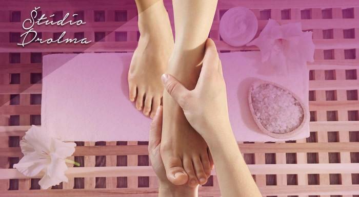 Fotka zľavy: Doprajte trošku potešenia vášmu telu - reflexná masáž chodidiel v kombinácii s masážou chrbta v Štúdiu Drolma v bratislavskej Petržalke.