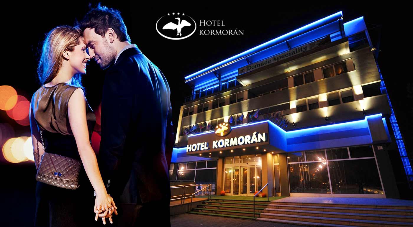 Fotka zľavy: A je tu opäť máj - lásky čas. Príďte si užiť romantiku pod krídla luxusného Hotela Kormorán**** s raňajkami, večerou a wellness.