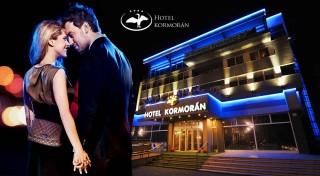 Zľava 40%: A je tu opäť máj - lásky čas. Príďte si užiť romantiku pod krídla luxusného Hotela Kormorán**** s raňajkami, večerou a wellness.
