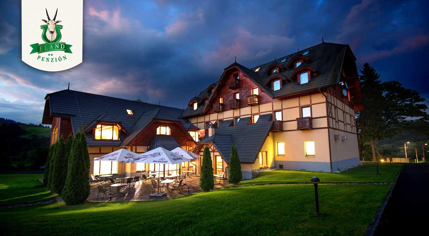 Fotka zľavy: Poďte si oddýchnuť do Pienin a prežite perfektné 3 alebo 6 dni v znamení wellness, aktívneho oddychu či výborného jedla v rámci polpenzie alebo All inclusive. Navštívte útulný hotel***+ ELAND.