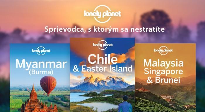 Fotka zľavy: Knihy Lonely Planet o exotických destináciách