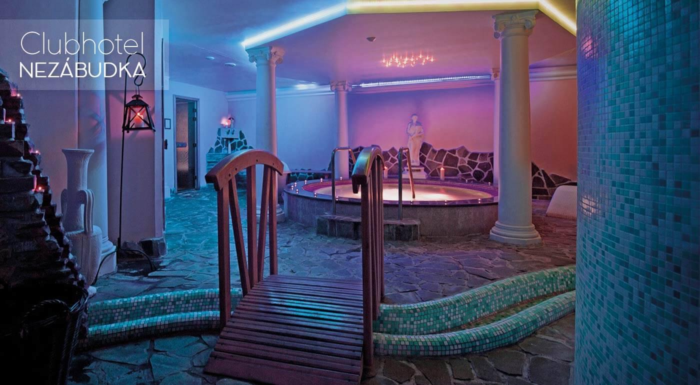 Pobyt na nezabudnutie pod tatranskými štítmi v Clubhoteli*** Nezábudka - wellness, polpenzia alebo all inclusive