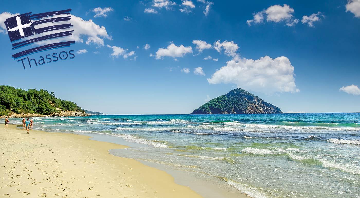 Bájna dovolenka v bájnom Grécku - Štúdiá Afroditi na ostrove Thassos na 8, 9 či 10 dní