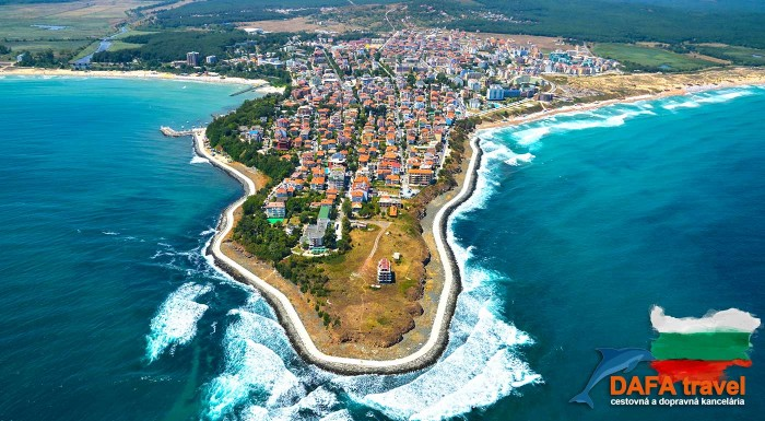 Fotka zľavy: Keď dovolenka pri mori, tak jedine Primorsko! Vychutnajte si 9 až 11 dní na krásnej pláži. Zlatisté pieskové pláže, tichá lokalita a pohodlné ubytovanie s raňajkami v Hoteli Diamond***.